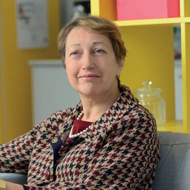 Martine Vareilles, business unit responsible for the CNP Assurances joint venture with La Banque Postale