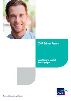 72617b3fff8c03 CNP Trésor Projets - Vos besoins, nos solutions - Particulier - CNP  Assurances